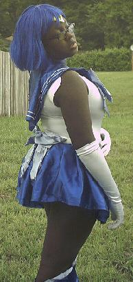 Sailor Mercury from Sailor Moon worn by Merkurrie