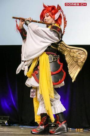 Suzaku from Final Fantasy XIV