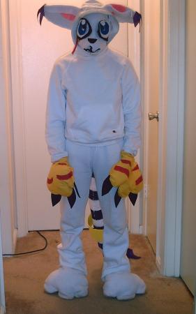 Gatomon from Digimon Adventure