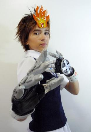 Tsunayoshi Sawada from Katekyo Hitman Reborn! worn by Peace_Maker_Girl
