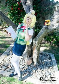 Isabelle from Animal Crossing worn by HezaChan