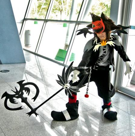 Sora from Kingdom Hearts worn by Cvy