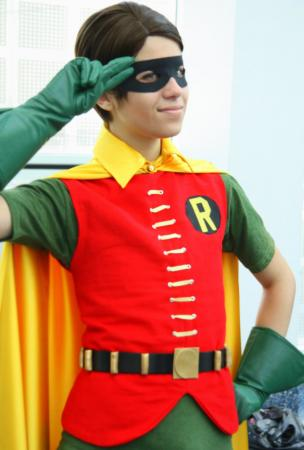 Robin from Batman worn by Steff Von Schweetz