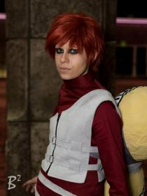 Gaara from Naruto worn by Steff Von Schweetz