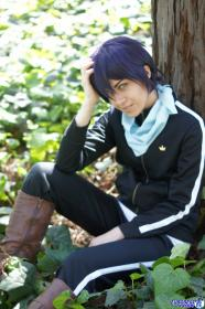 Yato from Noragami worn by Steff Von Schweetz