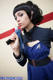 Spock from Star Trek worn by Steff Von Schweetz