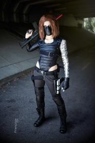 Winter Soldier from Captain America: The Winter Soldier worn by Steff Von Schweetz