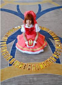 Sakura Kinomoto from Card Captor Sakura worn by Steff Von Schweetz