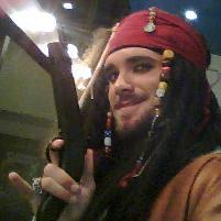 Captain Jack Sparrow from Kingdom Hearts 2