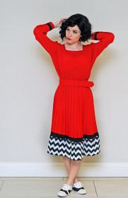 Audrey Horne from Twin Peaks worn by Avianna