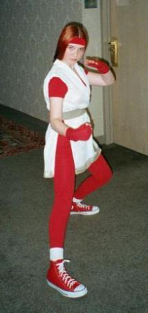 Yuri Sakazaki from King of Fighters 1994