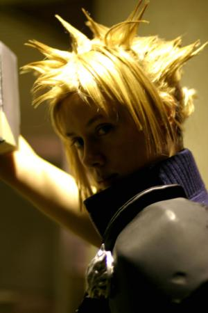 Cloud Strife from Kingdom Hearts 2