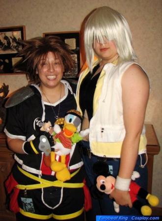Sora from Kingdom Hearts 2