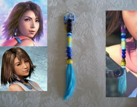 Yuna from Final Fantasy X-2 worn by Haven