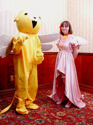 Kero-chan from Card Captor Sakura worn by Anime Angel Blue