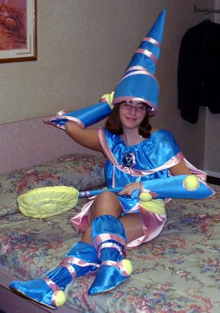 Dark Magician Girl from Yu-Gi-Oh! Duel Monsters worn by Anime Angel Blue