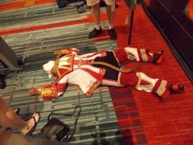 White Mage from Final Fantasy XI worn by Anime Angel Blue