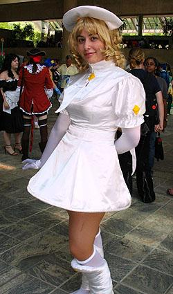 Blanche from Angelic Layer worn by Anime Angel Blue