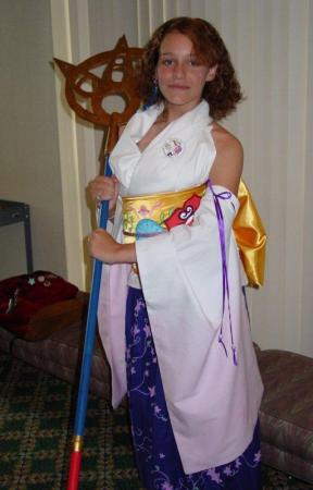 Yuna from Final Fantasy X worn by Kaurin
