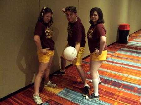 Sunnydale High School Dodgeball Team from Buffy the Vampire Slayer