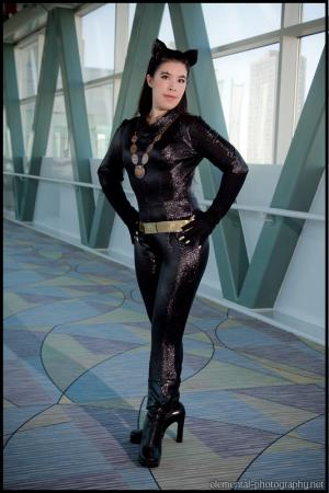 Catwoman from Batman worn by Mage