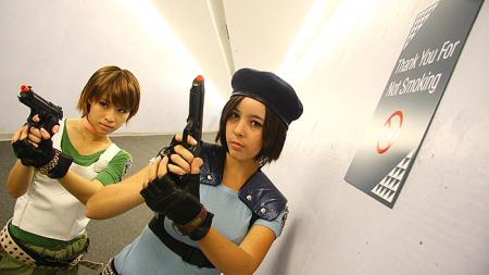 Jill Valentine from Resident Evil worn by Monika Lee