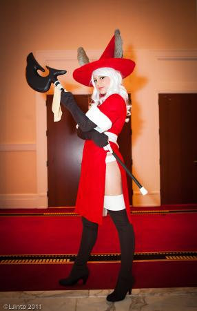 Viera Red Mage from Final Fantasy Tactics Advance worn by Xero