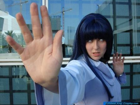 Hinata Hyuuga from Naruto Shippūden worn by Lady Tenkage