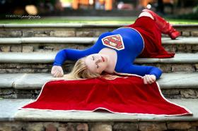 Supergirl from DC Comics worn by Chiki