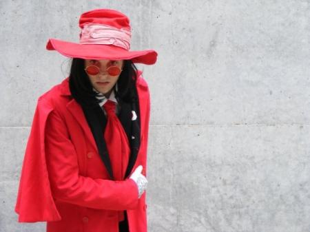 Alucard from Hellsing worn by Panda