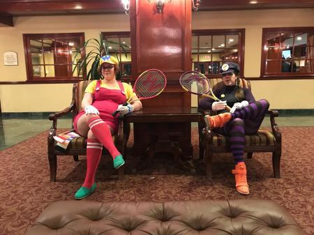 Wario  from Mario Power Tennis