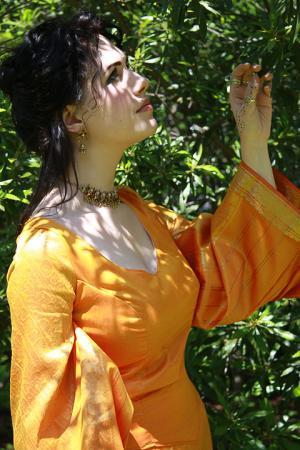 Princess Sibylla of Jerusalem from Original:  Historical / Renaissance worn by klytaemnestra