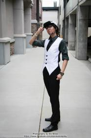Kotetsu T. Kaburagi / Wild Tiger from Tiger and Bunny worn by Cat-Shark