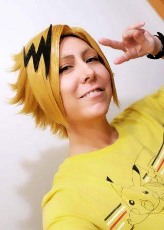 Denki Kaminari from My Hero Academia by Lotus Cat