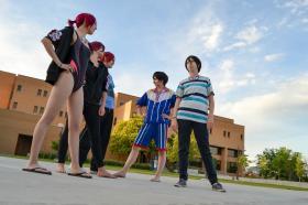 Rin Matsuoka from Free! - Iwatobi Swim Club worn by Cat-Shark