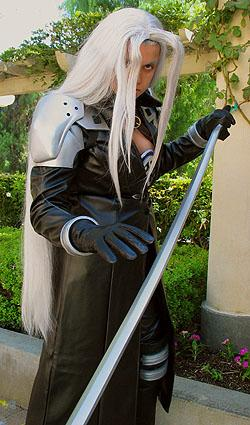Sephiroth from Final Fantasy VII worn by Anele