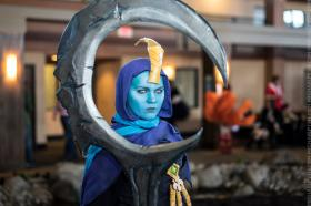 Soraka from League of Legends worn by Adnarimification