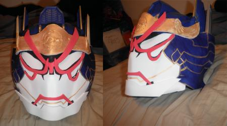 Ivan Karelin / Origami Cyclone from Tiger and Bunny worn by Adnarimification