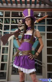 Caitlyn from League of Legends worn by P0kyu
