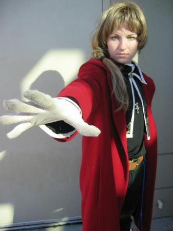 Edward Elric from Fullmetal Alchemist worn by Vikki