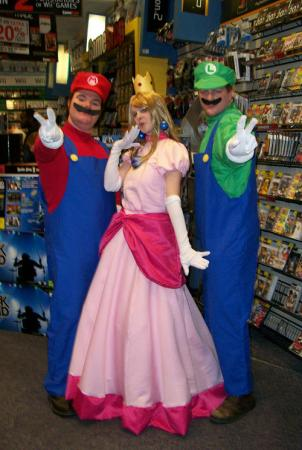 Princess Peach Toadstool from Super Mario Brothers Series worn by BeckyTaka