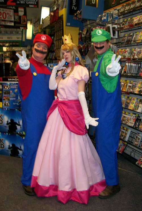 Princess Peach Toadstool Super Mario Brothers Series By