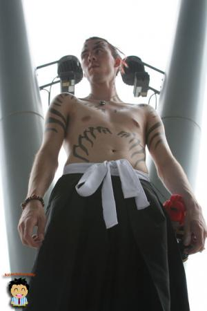 Renji Abarai from Bleach worn by CeruleanDraco