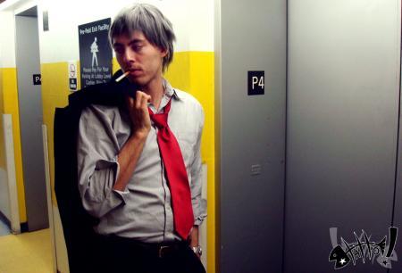 Ryotaro Dojima from Persona 4 worn by CeruleanDraco