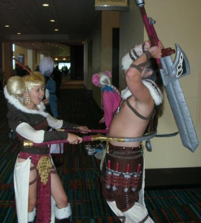Freya from Viking: Battle for Asgard
