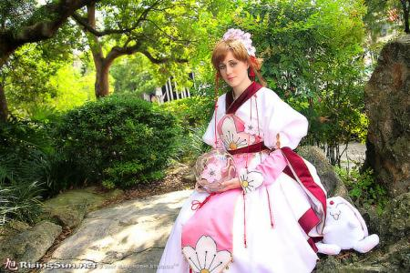 Sakura from Tsubasa: Reservoir Chronicle worn by Annwyn Daisy Viktoria