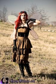 Steampunk Faerie from Original:  Fantasy