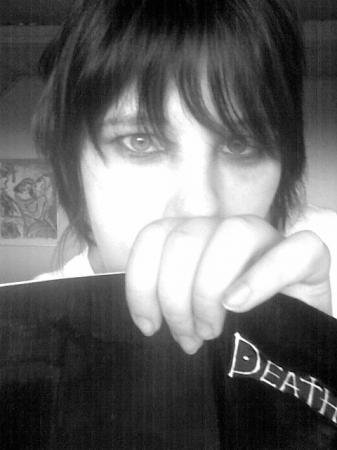 L / Ryuuzaki from Death Note worn by YamisGuardianAngel