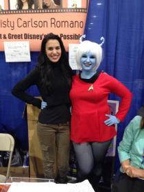Andorian from Star Trek