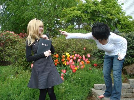 Amane Misa from Death Note worn by BakudanCoco